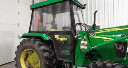Cabine pour tracteur